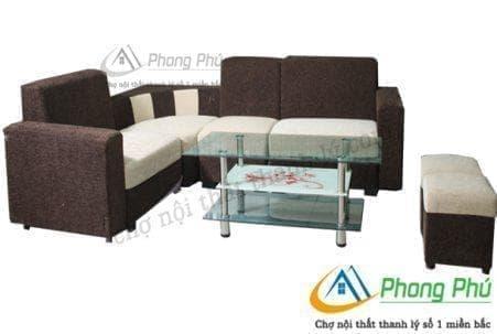 Sofa góc nỉ SGN02