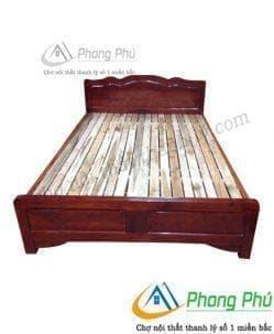 Giường gỗ keo 1m6 GK02