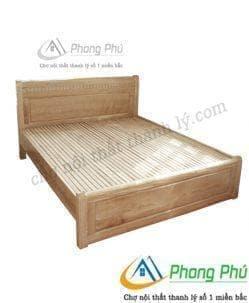 Giường gỗ sồi 1m6 GS01