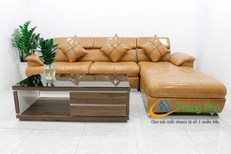 Sofa da cao cấp SFD04 2