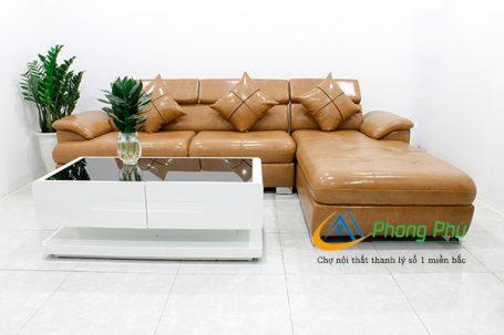 Sofa da cao cấp SFD04