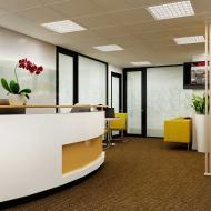 Tăng hiệu quả làm việc với thiết kế nội thất văn phòng