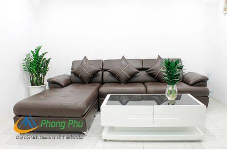 Sofa da cao cấp SFD004