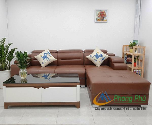 Sofa da cao cấp SFD002 2